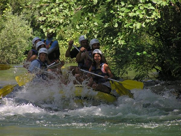 Rafting  tour Cetina river