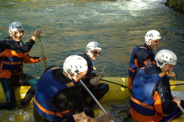 Whitewater rafting Cetina river